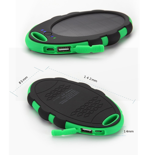 US $15 5 | solar charging treasure 10000Mah mobile power Cell phone charger  for ZTE Nubia Z9 Mini / Z9-in Mobile Phone Chargers from Cellphones &