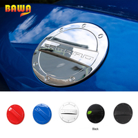HANGUP Tank Covers For Chevrolet Camaro 2017 Up Car Styling ABS Exterior Decoration Fuel Tank Cap Stickers Tank Covers
