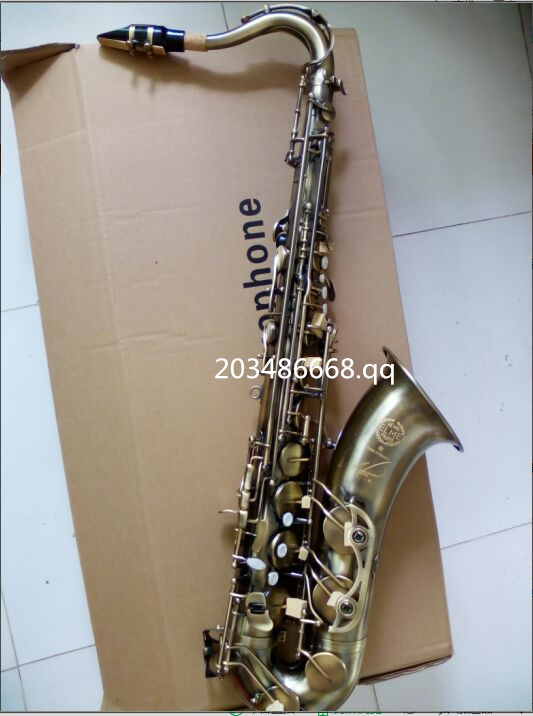 tenor saxophone 2017 Hot selling High quality saxofone tenor antique copper saxophone Perfect sound quality SAX Free shipping tenor saxophone instrument new selmer high quality saxophone tenor sax antique copper free shipping saxophone