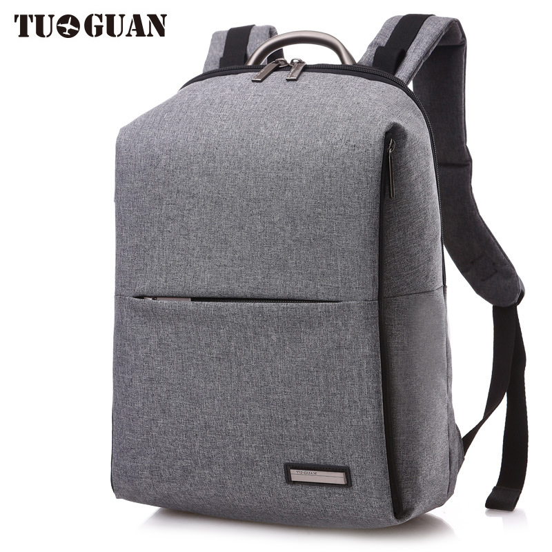 TUGUAN Fashion Men/Women Waterproof Backpack 15.6 Inches Laptop Bag Schoolbag College Student Back Pack for Male Girl Bagpack augur 2018 brand men backpack waterproof 15inch laptop back teenage college dayback larger capacity travel bag pack for male