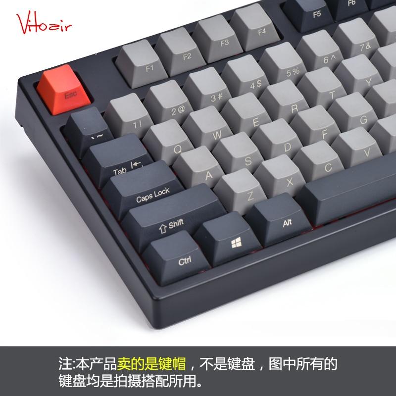 108 Pcs/set Dolch Colour Matching Radium Carvings Mechanics Keyboard Key Cap PBT Restore Ancient Ways Colour Matching