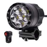 1pcs 6500K 9 48V 30W 4000LM Led Motorcycle bike Headlight bulb IPX6 Waterproof Driving Spot Lights External MOTO Accessories