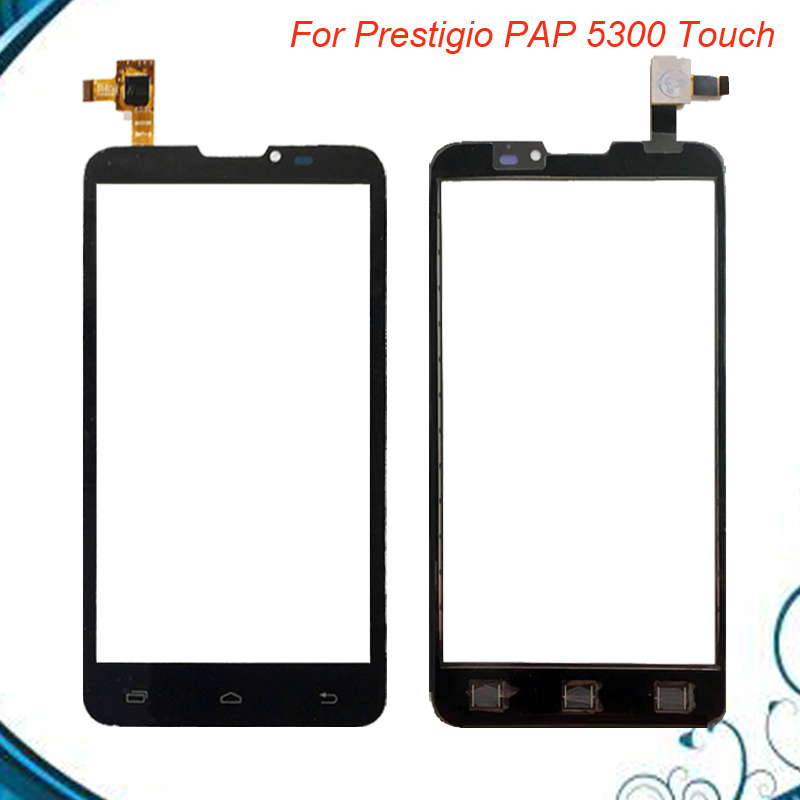 New Touch Screen For Prestigio MultiPhone 5300 Duo PAP5300 Touch Screen PAP 5300 Digitizer Glass Panel free shipping