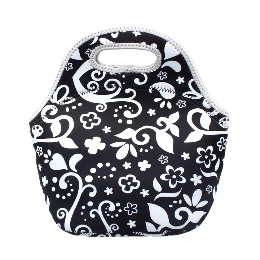 Top Grand New Thermo Thermal Insulated Neoprene Lunch Bag for Women Kids Lunchbags Tote Zipper Cooler Lunch Box Insulation Bag