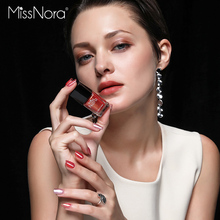 MISS NORA Water Based 6ml Soak Off Crackle Nail Polish Top Coat Lacquer Primer Quick Drying DIY Beauty Art Tools Set