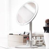 Оригинальный Xiaomi Youpin зеркало Ночной свет перезаряжаемая яркость регулируемая светодио дный светодиодная HD макияж дневной свет зеркало сен