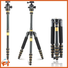 QZSD Q777 Aluminum Alloy Portable Traveling Tripod Monopod Stand with Ball Head for Digital Camera and Camcorder