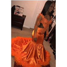 c8d8669d3b99 Buy orange prom dress and get free shipping on AliExpress.com