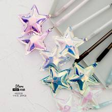 1pcs Gel Pens pendant Love Star kawaii gift Black gel-ink pens pens for writing Cute stationery office school supplies 0.5mm(China)