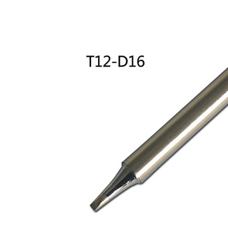 Gudhep T12-D16 Replacement Soldering Iron Tips for FX951 Soldering Rework Station FM2027 FM2028 FX9501 Handle image