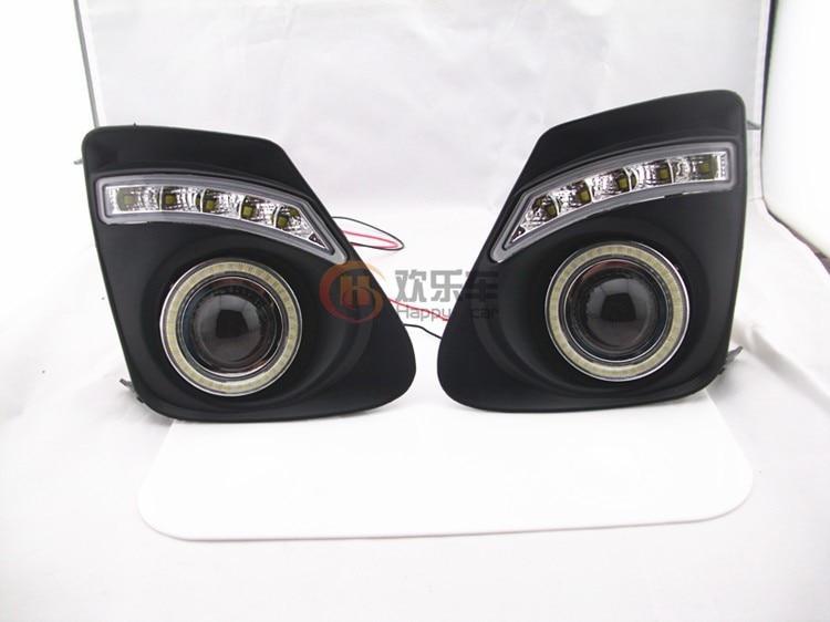 eOsuns COB Angel eye + LED დღისით - მანქანის განათება - ფოტო 3