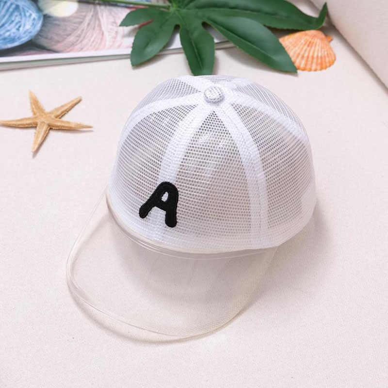 Doitbest 2 a 5 Anni di età del Bambino del Berretto Da Baseball di Hip Hop di Sun dei capretti Cappello Del PVC bordo della maglia ABNRYW Lettere Dei Ragazzi ragazze Berretti cappelli di snapback
