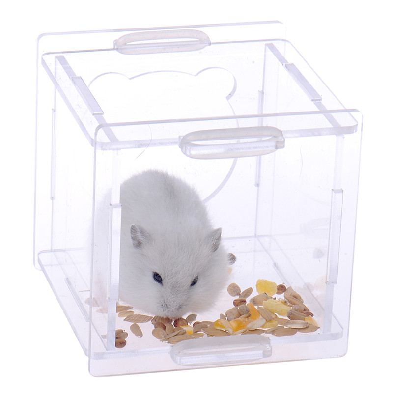 2017 Kafazë të Kafazëve të Re Portable Hamster Pet furnizojnë me - Produkte për kafshet shtëpiake - Foto 2