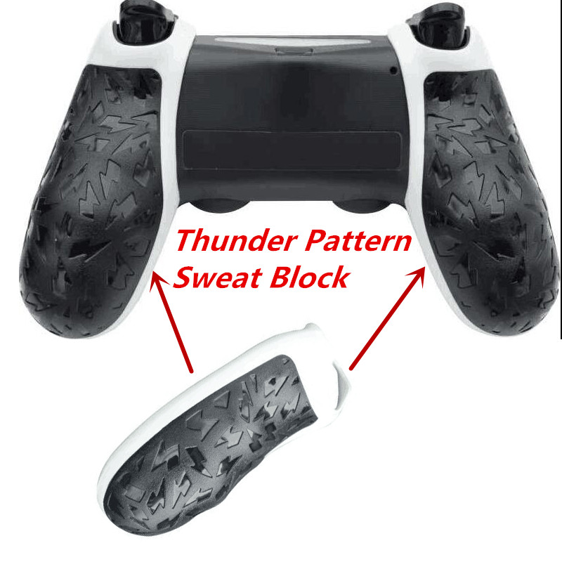 4pcs 2 set Professional Skidproof Grips Sweat Block Handdle Hang handhold For Sony Playstation 4 PS4 PS4 Slim PS4 Pro Controller