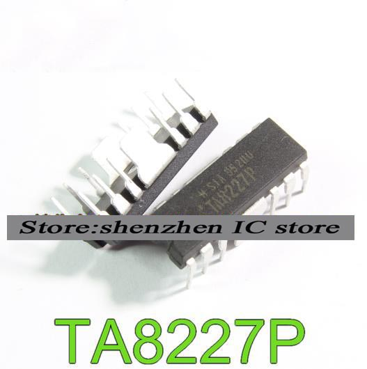 10PCS TA8227 DIP TA8227A TA8227APG new original free shipping fast delivery