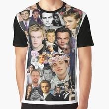 15ccbe892 All Over Print 3D Women T Shirt Men Funny tshirt leonardo dicaprio tumblr  edit Graphic T