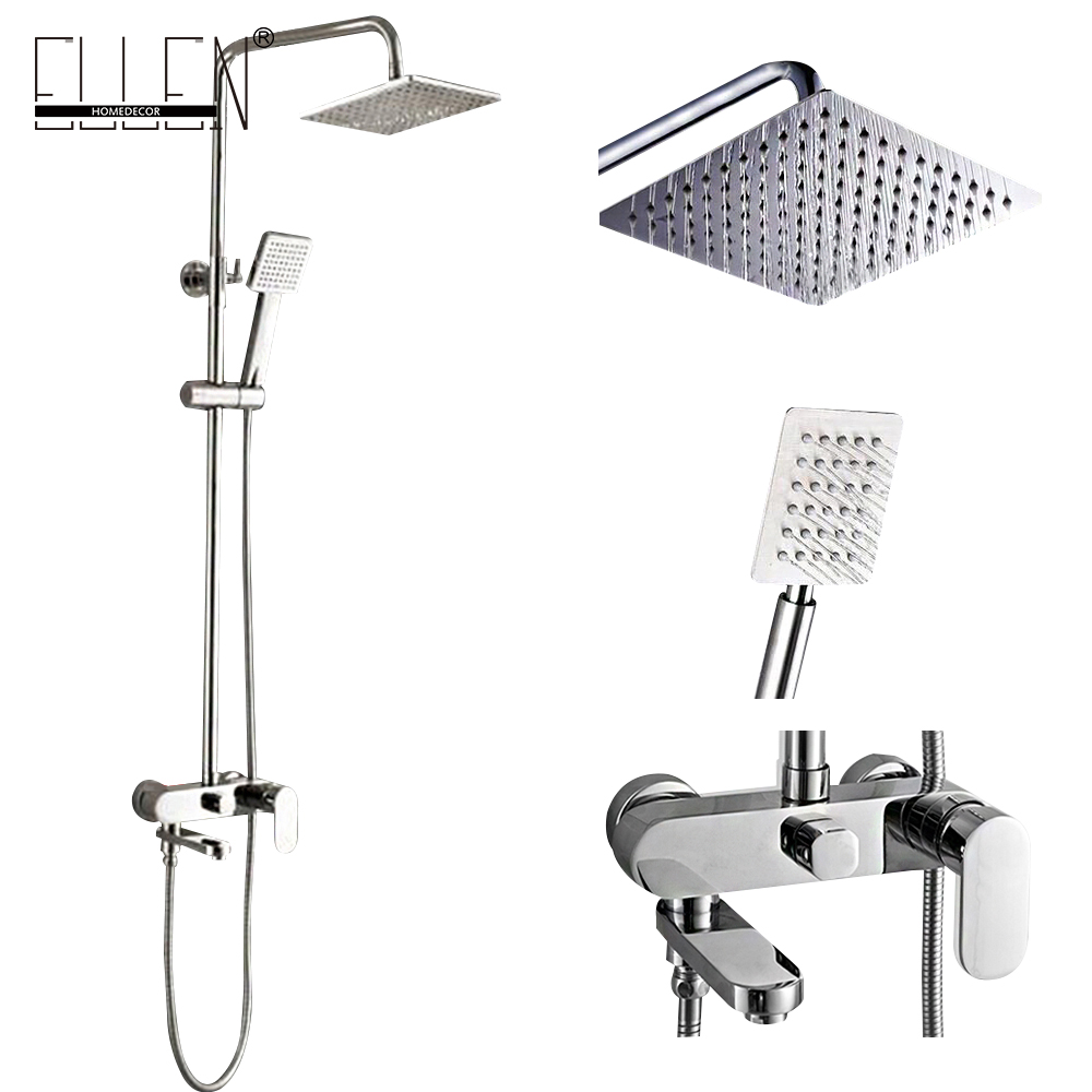 Buy Bathroom Shower Set 8 10 12 Inch Rain Shower Head Bath S