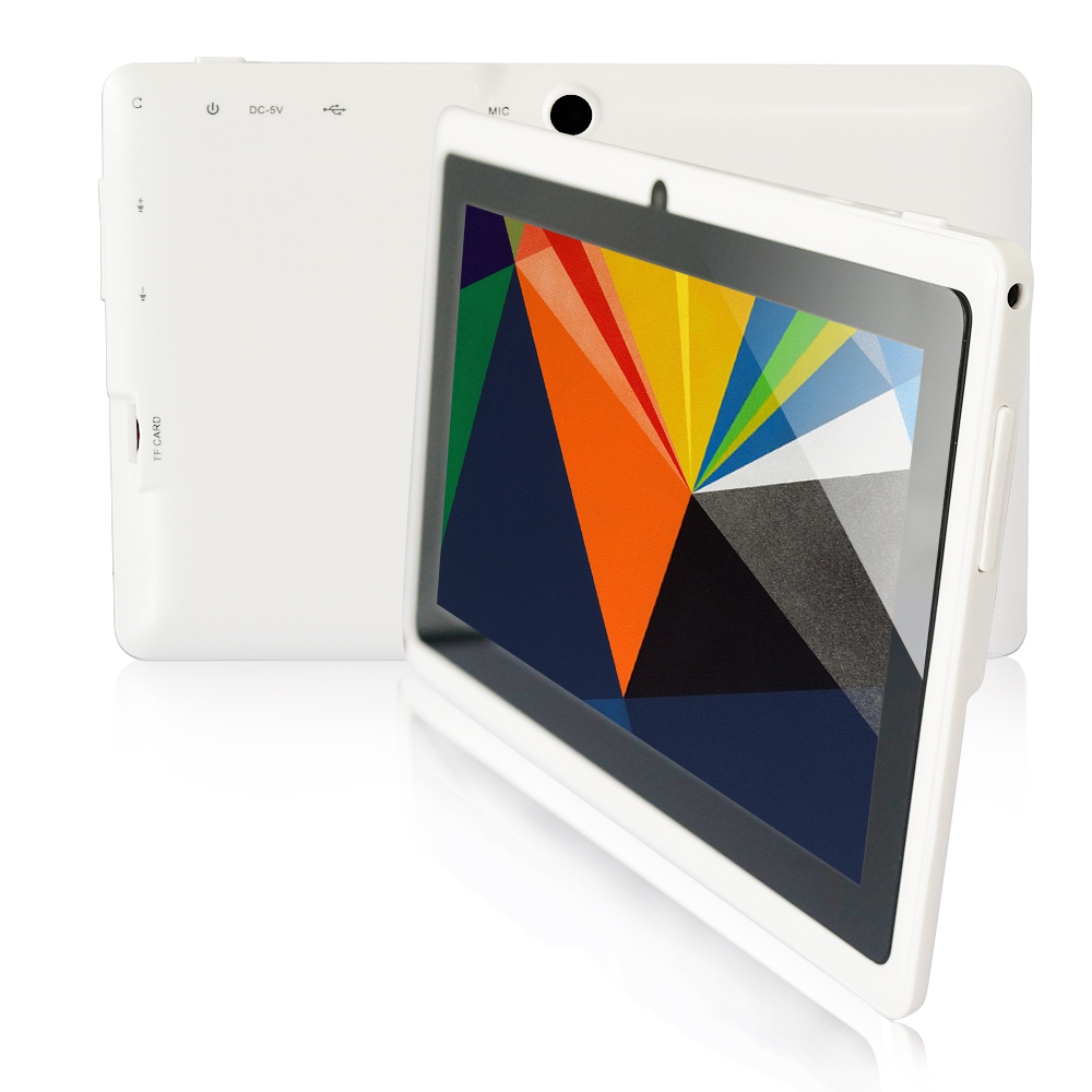 Yuntab 7inch tablet PC Quad Core Allwinner A33 Google Android 4 4 tablet PC with Dual