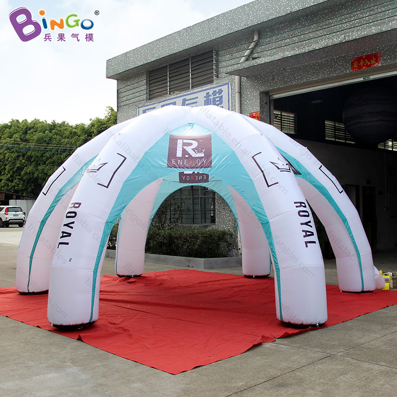 Customized 6X3 meters spider advertising inflatable tent for exibition promotional dome tent for commercial trade show toy tent trade show exhibition tent commercial advertising inflatable tent house for event china factory outdoor inflatable igloo tent
