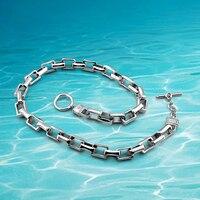 Nowa marka biżuterii jest bardzo fajne man.925 srebro starożytny autentyczności trudno grubości łańcucha link hurtownie jewel mężczyzna