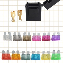 5pcs waterproof car fuse holder with fuse Terminals