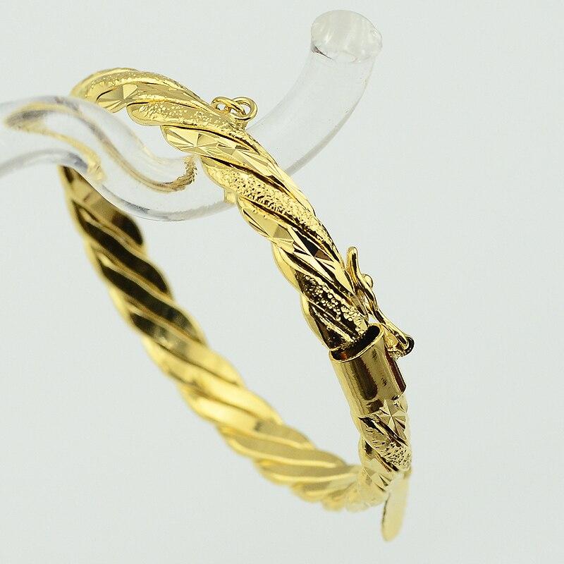 2 Stil 6 Mm Dia.43mm Gold Farbe Gefüllt Armreif Schmuck Für Kinder Daring Baby Kleine Glocke Armband Schmuck Harmonische Farben