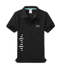 3f70e0ad9 bonsdasgu Brand Men's CISCO Polo Shirt Women Cotton Short Sleeve Summer polo  Shirts