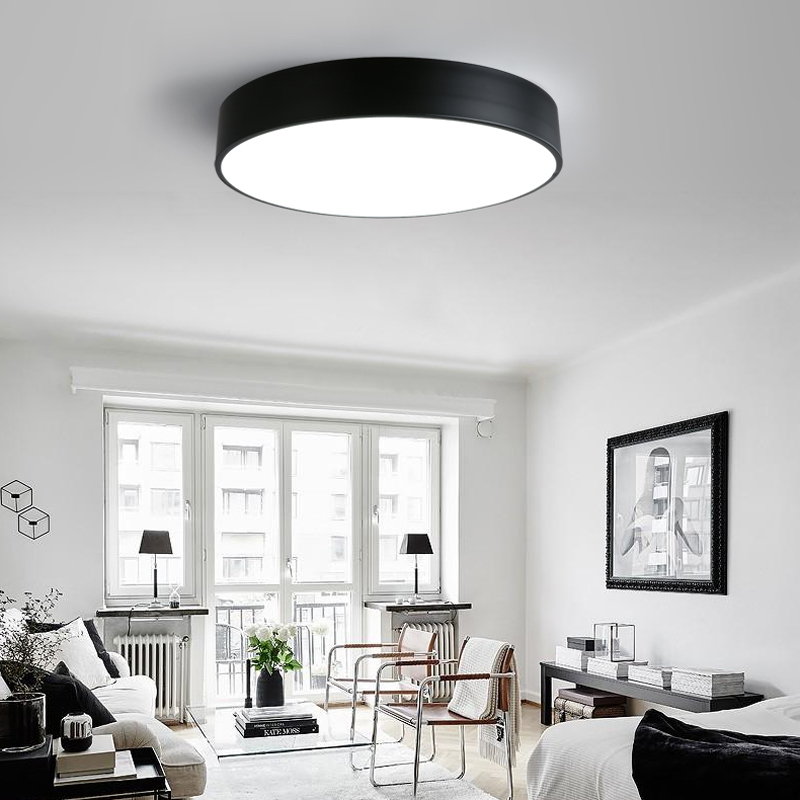 Modern Led Ceiling Lights For Dining Room Warm White Cool White Brightness Dimmable Light Fixtures AC90~260V Ceiling Lamp