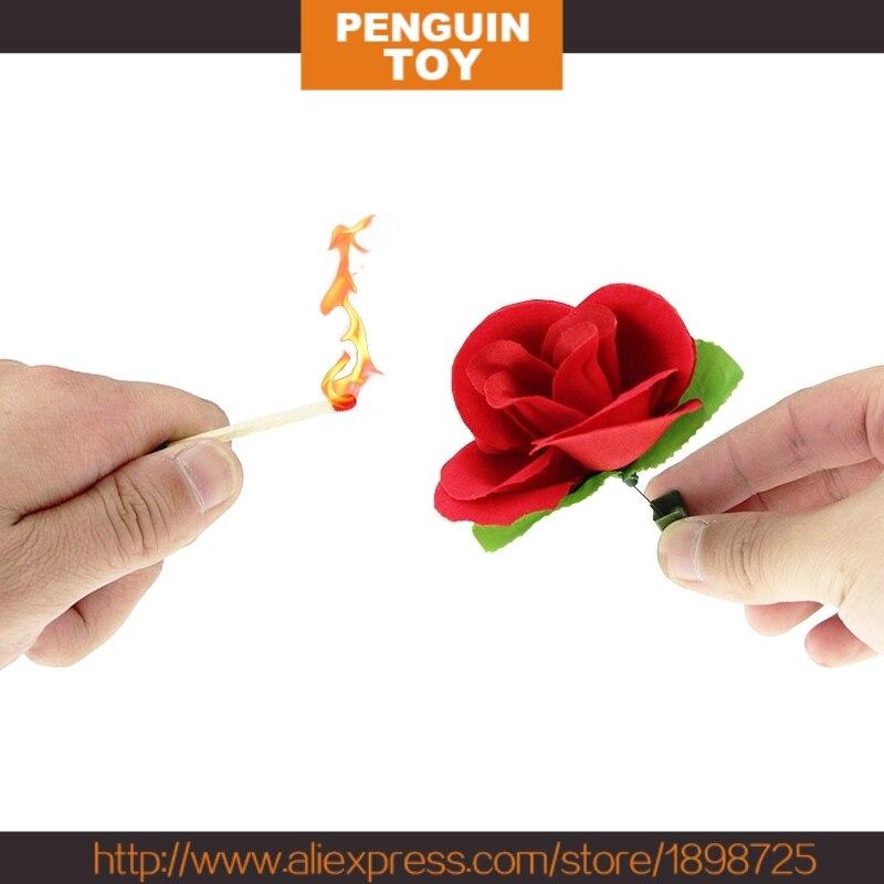 Match To Rose -Magic Trick,Close Up Magic