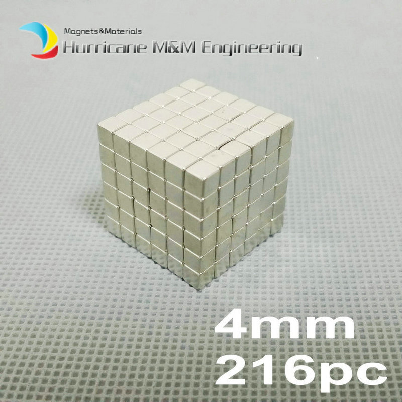 216 pcs N42 Block 4x4x4mm NdFeB Magnet Cube Magic Toy Neodymium Magnets Rare Earth Magnets Permanent 216 0683010 216 0683013 216 0683008 page 4