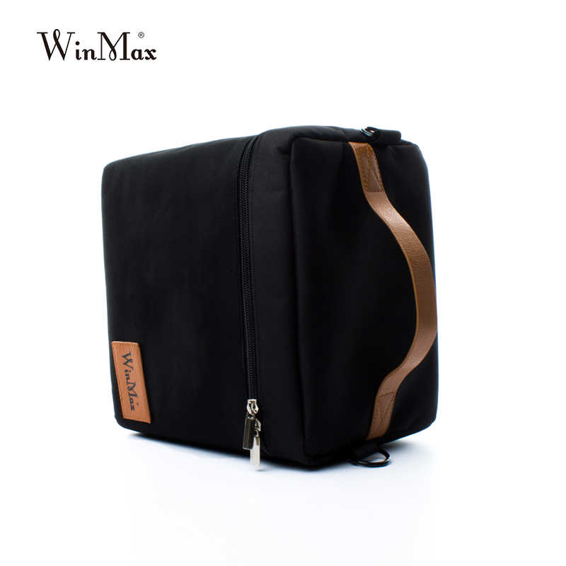 65bec59b0cd9 ... Winmax Portable Thermal Lunch Bags Set for Women Kids Men Travel Food  Picnic Cooler Box Insulated ...
