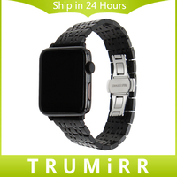 9 Pointer Stainless Steel Watchband Adapters For 38mm 42mm IWatch Apple Watch Sport Edition Wrist Band