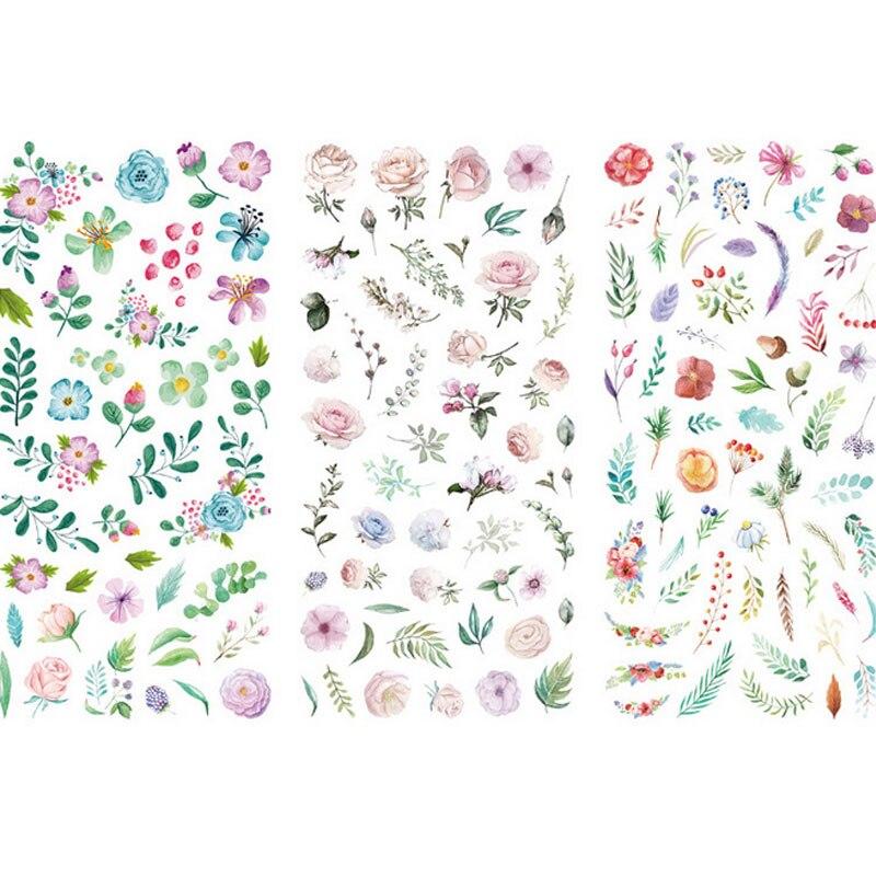 Купить с кэшбэком 3pcs/lot Creative transparent cute mobile phone decoration diy Sticker Cartoon Scrapbooking Stickers scrapbooking child kawaii