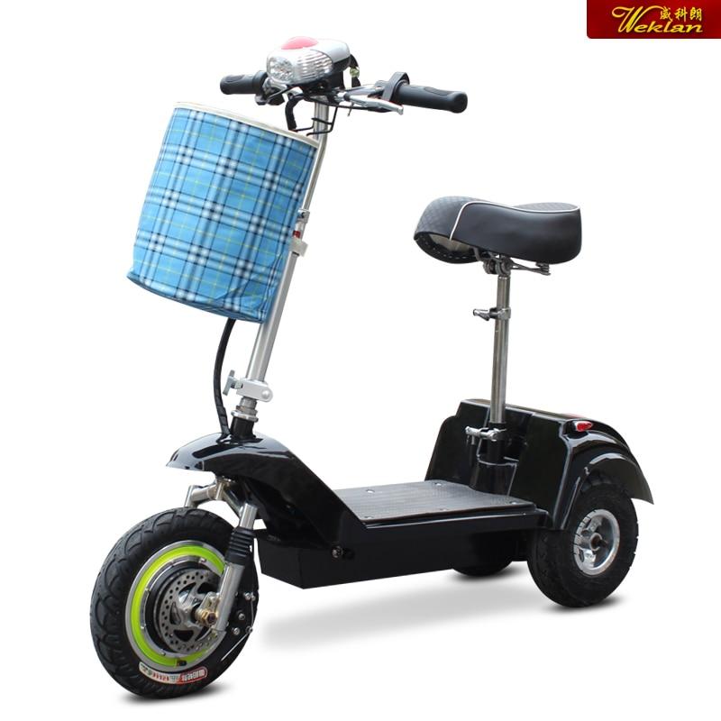 New Mini Foldable Electric Car 3 Wheel Electric Bike