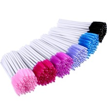 White Eyelash Brush 2000pcs Disposable Comb Mascara Wands Eye Lashes Extension Applicator Spoolers Makeup Tools Accessories