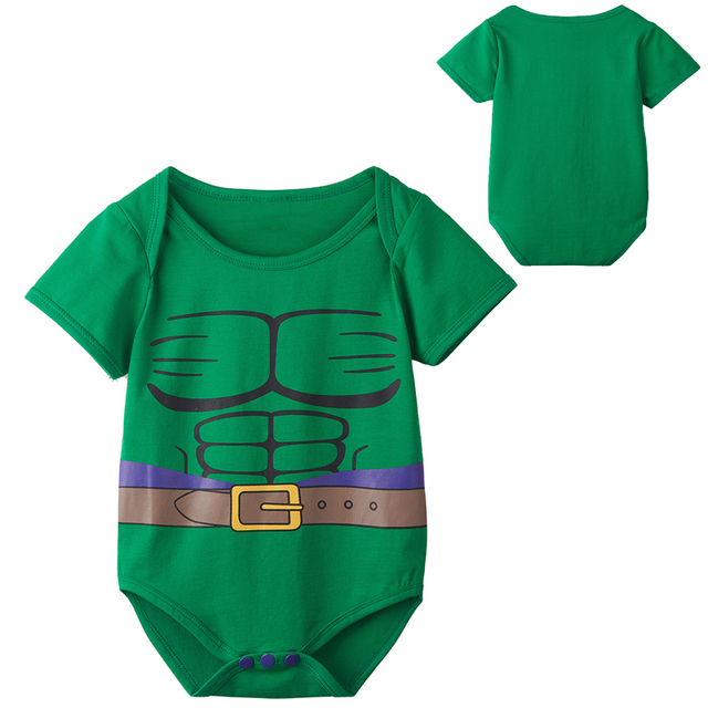 Newborn Baby Boy Green Hulk Costume Bodysuit Infant Party Playsuit 0-24 Months  sc 1 st  AliExpress.com & Newborn Baby Boy Green Hulk Costume Bodysuit Infant Party Playsuit 0 ...