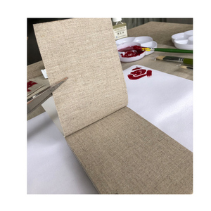Image 2 - 1.7m/2.2m wide 10m long pure rain linen canvas roll for artists with top grade quality