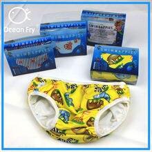 Подгузник для малышей купальник водонепроницаемые подгузники