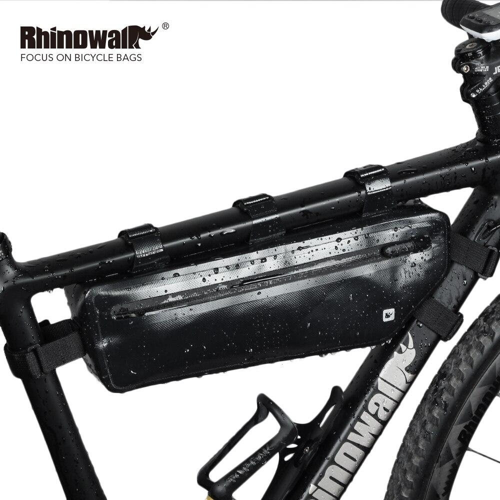 Sacs de bicyclette de faisceau avant Triangle extérieur de vélo de montagne/route 2.5L complètement imperméable à l'eau