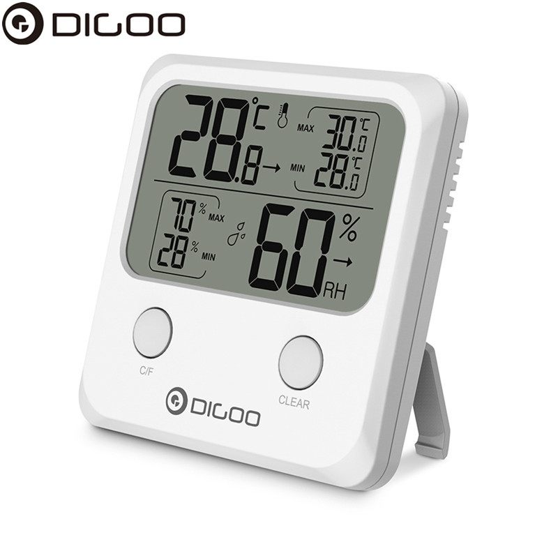 DIGOO DG-TH1170 LCD Mini Digital Thermometer Hygrometer Humidity Temperature Sensor Monitor стоимость
