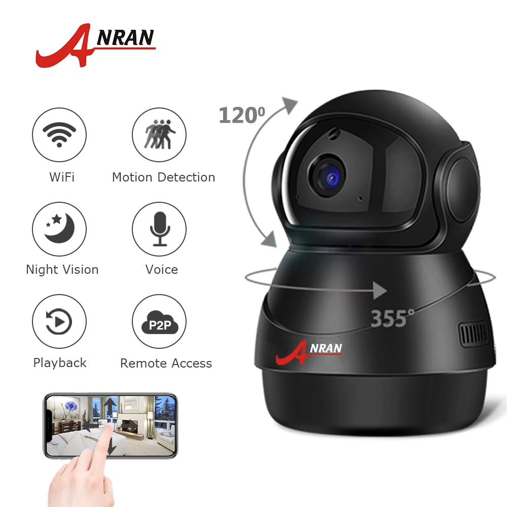 ANRAN 1080P HD IP Camera Wifi Two Way Audio Video Camera Cloud Home Surveillance Night Vision Security Camera Baby Monitor