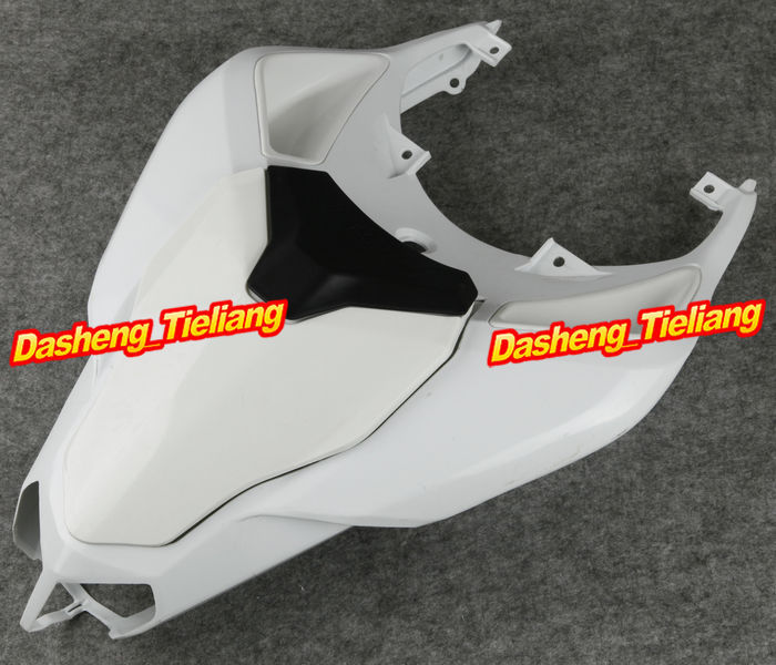 Unpainted Motorcycle Raw Tail Rear Fairing Parts For Ducati 2007 2008 2009 2010 1098 848 1198, ABS Plastic aftermarket free shipping motorcycle parts eliminator tidy tail for 2006 2007 2008 fz6 fazer 2007 2008b lack
