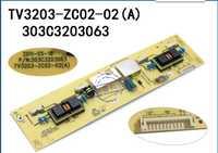 TV3203-ZC02-02 (A) carte mère t-con haute tension pour connexion avec carte de connexion L32E10 LCD32R26 L32M02 (05) T-CON