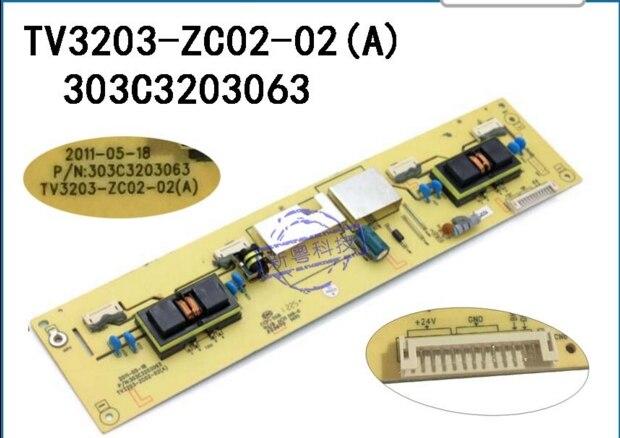 TV3203-ZC02-02(A) High Voltage T-con Logic Board For Connect With L32E10 LCD32R26 L32M02(05)  T-CON Connect Board