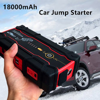 Portable 18000mAh Starting Device Super Car Jump Starter 12V 800A Car Charger For Car Battery Booster