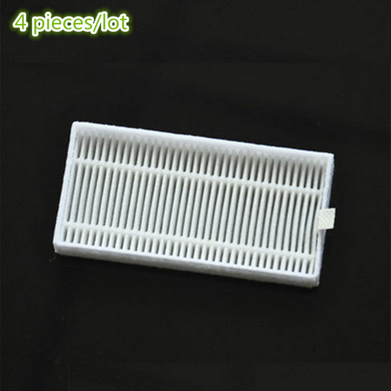 4 pieces/lot Robot Vacuum Cleaner HEPA Filter for Panda x900 Clever X1 robotic Vacuum Cleaner Parts Accessories 10pcs replacement hepa dust filter for neato botvac 70e 75 80 85 d5 series robotic vacuum cleaners robot parts