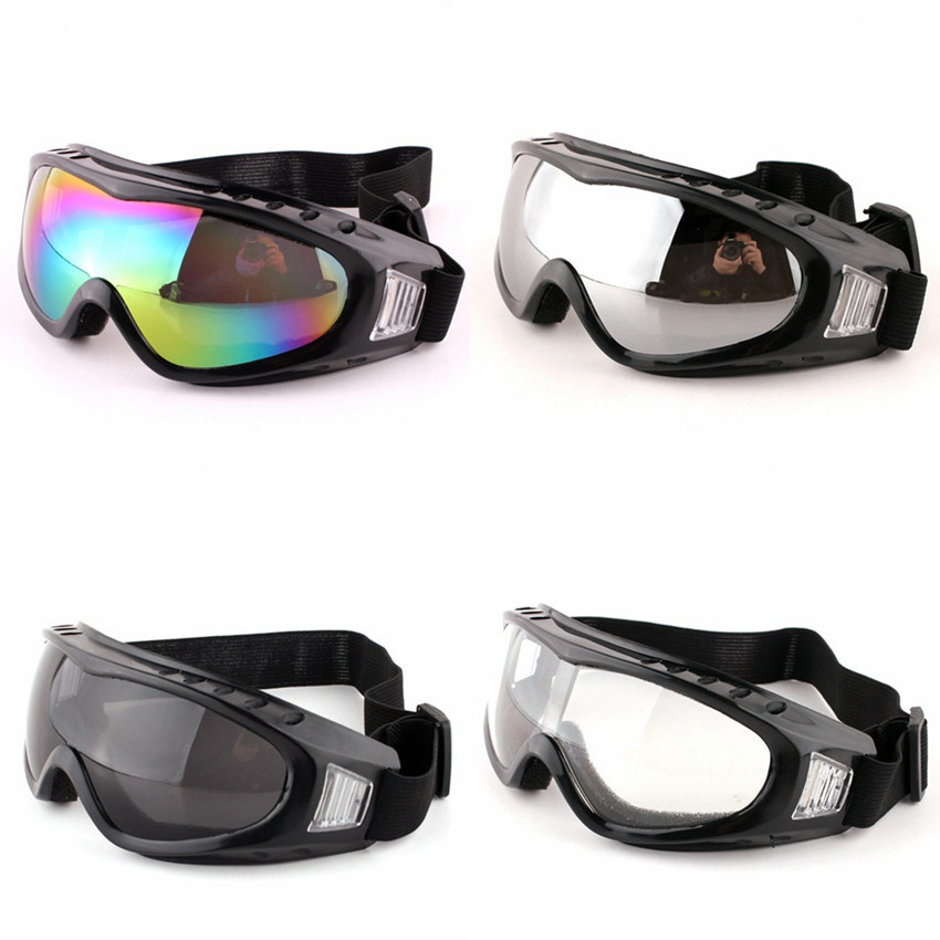 Safurance анти воздействия УФ ветрозащитный Лыжный Спорт очки Восхождение пыли Очки для езды на мотоцикле на рабочем месте Детская безопасност...