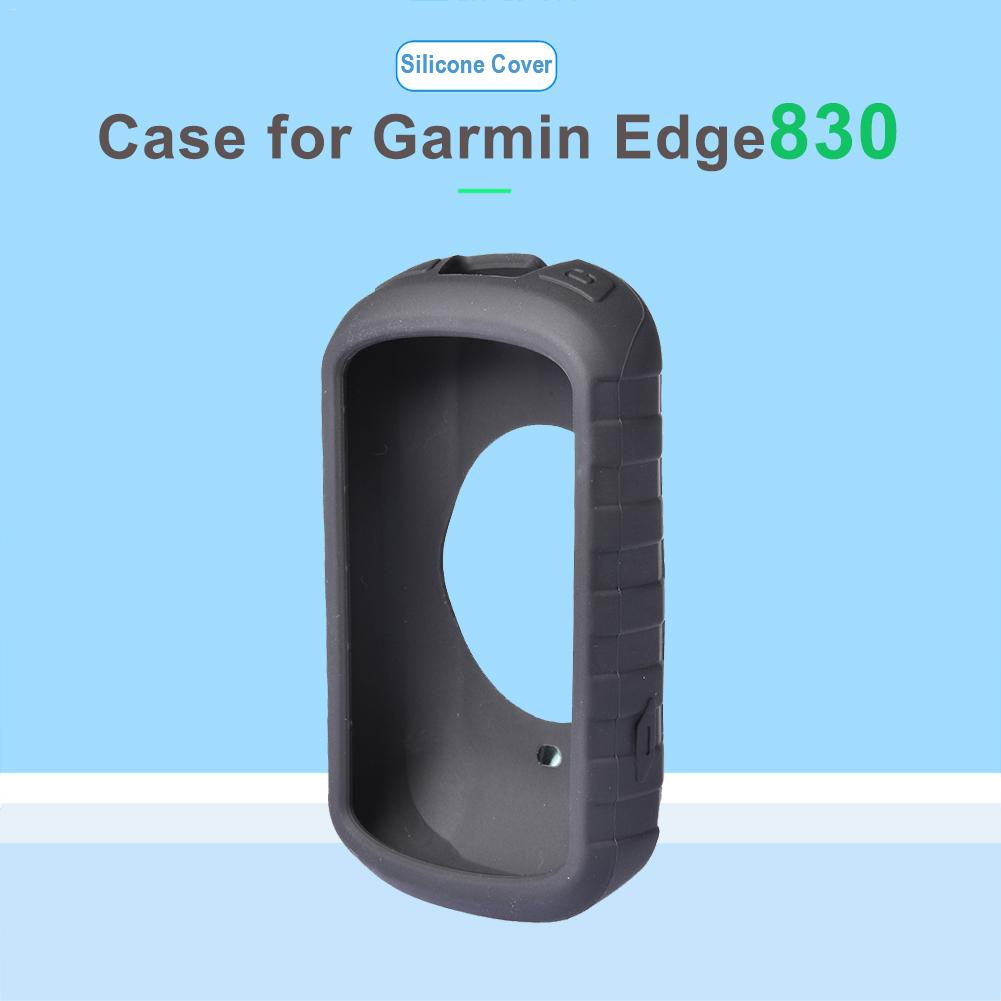 2019 Newest Silicone Gel Skin Case Cover For Garmin Edge 830 GPS Cycling Computer System Protective Case 106 5000 in Smart Accessories from Consumer Electronics