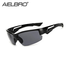 AIELBRO 2019 New Men Sunglasses Men Brand Designer Male Vintage Sun Glasses Eyewear Gafas de sol Masculino цена 2017
