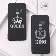 Fashion Queen For Case Samsung Galaxy S10e Cover King for S10 Plus S7 edge S8 S9 Phone Cases